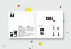 CUBE - Mindsparkle Mag Chung-Yun Yoo designed the branding for CUBE. Going to the supermarket, walking to work, dancing in the club: We are constantly moving. #logo #packaging #identity #branding #design #color #photography #graphic #design #gallery #blog #project #mindsparkle #mag #beautiful #portfolio #designer