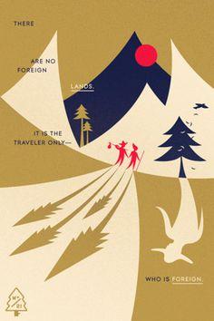 Wander Blog #poster