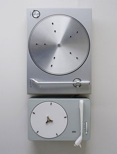 FFFFOUND! | Man with a Spade - braun vs b&o via #product #braun