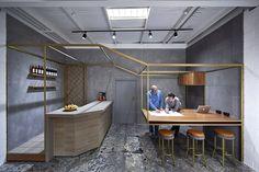 Anston Architectural Showroom by Dan Gayfer Design