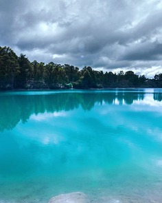 Balck diamond lake on a cloudy day. by @shutupandtakephotos