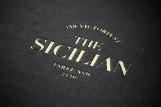 The Sicilian by Bravo Company #identity