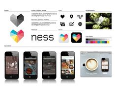 Ness | Moving Brands - a global branding company #guidelines #branding
