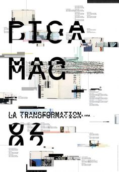 Poster Pica Mag on the Behance Network