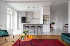 Colorful and Minimalist Apartment in Kiev by Maly Krasota Design