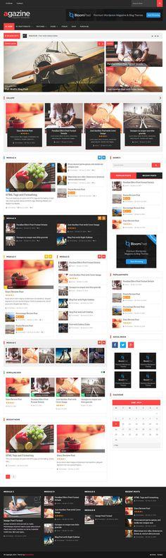 magazine, website, layout, concept, #website #layout #concept #magazine