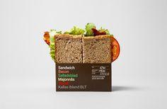7-Eleven & Pressbyrån #packaging #sandwich #food