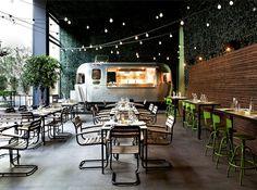 Urban Garden Restaurant in Athens urban garden restaurant 1 #restaurant #restaurant design #urban