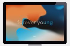 Droga5 forever young branding logo modern fading color colorful beauty beautiful new mindsparkle mag colorful d5x