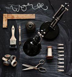 Vosgesparis #industrial #black #styling
