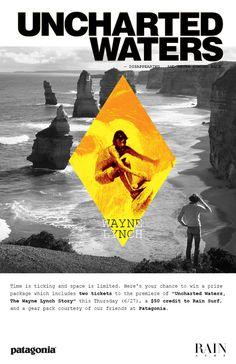 Rain Surf #type #poster #surf #wayne lynch