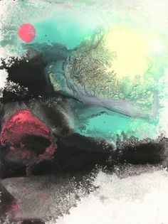 Looks like good Paintings by Michael Cina #abstract #painting #art