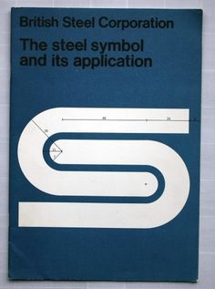 Eye blog » Fixed compass. David Gentleman talks about his identity design for British Steel #steel #british #branding #gentleman #logo #helvetica #david