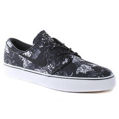 Nike Skateboarding Zoom Stefan Janoski Shoes Black/black/white
