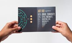 Art Kid Brochure on Behance #brochure