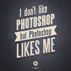 I DON'T LIKE PS on yay!everyday #poster #typography