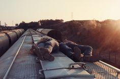 Lifestyle of the Unemployed #train #joy #life