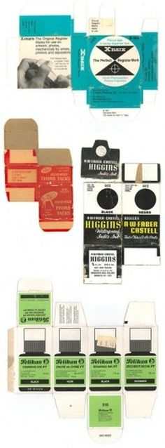 eyeone | seeking heaven #packaging #supplies #office #vintage #drafting