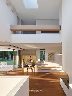 Haus am Wald Residence in Stuttgart / Alexander Brenner Architects 10