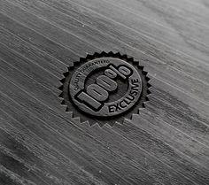 Free Photorealistic Wooden Style Logo Mockup