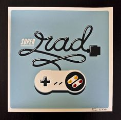 Allan Peters #nintendo #lettering #super