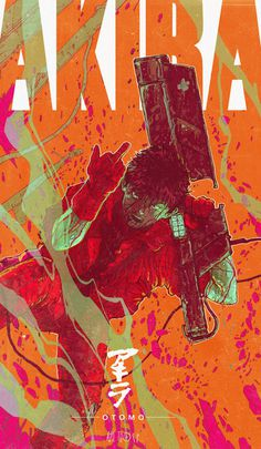 X__X • 死 者 の 顔 • #akira #poster