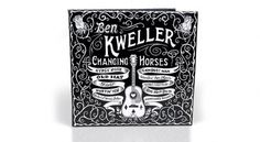 Changing Horses Packaging System | Ben Kweller & ATO Records | Helms Workshop #cover #album #intricate #typography