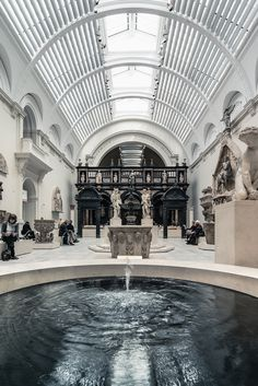 CJWHO ™ (Fountain of Youth Victoria and Albert Museum,...) #youth #albert #uk #museum #london #of #design #interiors #fountain #photography #architecture #victoria #and #luxury