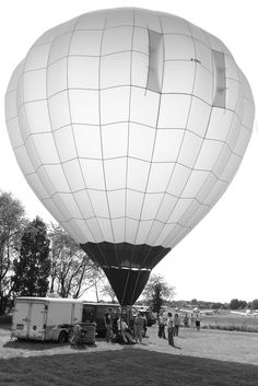 Translucent Hot Air Balloon 2008 | Flickr Photo Sharing! #balloon #air