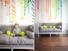 Jordan Ferney | Oh Happy Day!: Zig Zag Accordion Streamers DIY #inspiration #happy #streamers