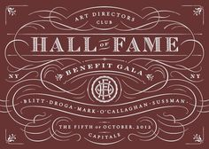 ADC Hall of Fame #ad