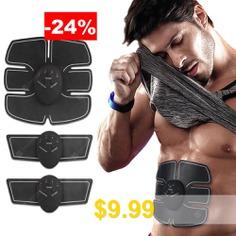 Intelligent #Abdominal #Muscle #Fitness #Training #Device #- #BLACK