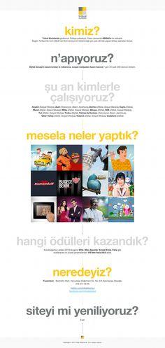 Tribal Worldwide Istanbul #ddb #white #site #portfolio #design #tribal #simple #minimal #art #worldwide #type #web