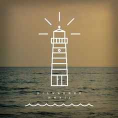 Miscellaneous by Zac Jacobson, via Behance #lake #lighthouse #water #nautical