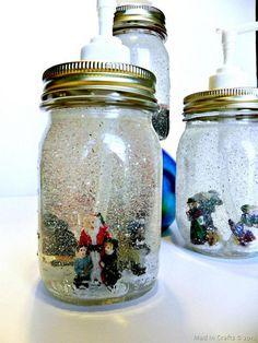 Cool Mason Jar Soap Dispenser Craft Tutorials #mason jar #bottle #diy #craft