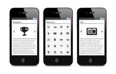 Matthew Hancock #swiss #iconography #design #graphic #icons #iphone #digital #minimal #web