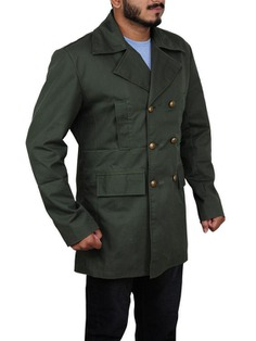 FilmStarLook Offering You Amazing Doctor Who Green Long Coat With Affordable Price. Available Our Online Store FilmStarLook.com. So Visit Our Store Today And Get Your Favorite Product Here. #DoctorWhoGreenLongCoat #MenFashion #FilmStarLook https://bit.ly/2klZPn6