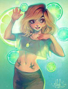 Loish illustration #loish #illustration #girl #cute