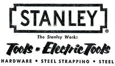 a time to get: FLICKR FIX: Vintage Logos #stools #stanley
