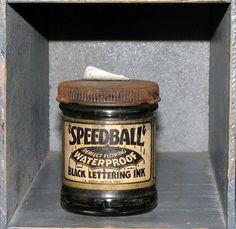 Speedball | Flickr - Photo Sharing! #packaging #ink #speedball