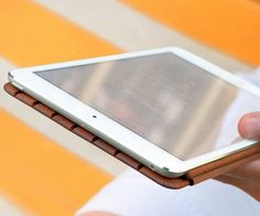 Miniot Wooden Cover and Stand for iPad Mini #gadget