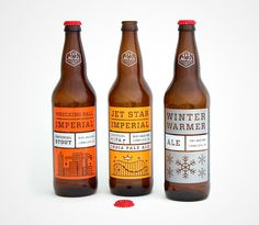 No Li Brewhouse - This kind of illustration is closer to my area of expertise. Recognisable branding, simplicity but with character - great #packaging #beer