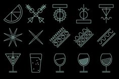 Toormix. Branding, Dirección de Arte, Diseño editorial y Comunicación desde el 2000 #spain #pictogram #toormix #vectorial #food #illustration #drinks #barcelona