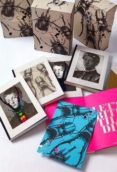 print, book, box