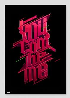 YCBM V3 by ~ptarka on deviantART #ptarka #ycbm #typography