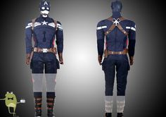 The Winter Soldier Captain America Uniform Cosplay Costume for Sale
