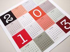 Modern #calendar