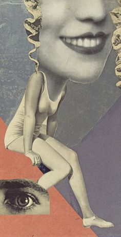 Hannah Höch, Für ein Fest gemacht (Made for a Party) 1936 Whitechapel Gallery