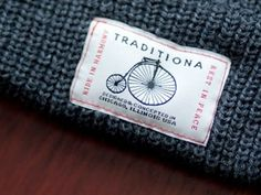 Dribbble - Traditiona Bike Patch Produced by Luke Sedmak #headwear #traditiona #bike #clean
