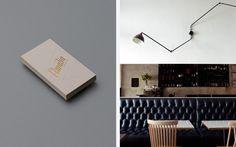 Café Amalia — Tom Clayton / Swear Words #business #branding #card #identity #stationery #foil #typography